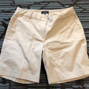 Talbots khaki short size 12w